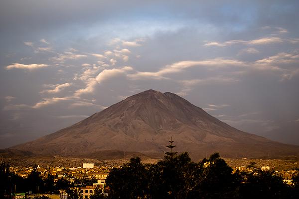 Arequipa's most famous volcano, Misti