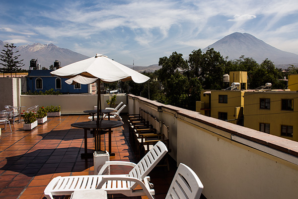 The volcano the maiden the cloister and the crepes for Hotel casa andina classic arequipa