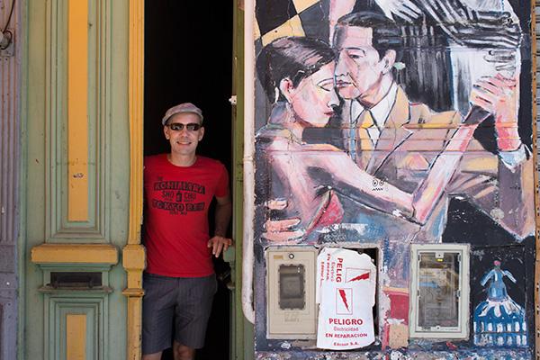Thomas in La Boca
