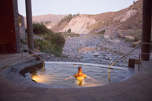 The spa at Colca Lodge