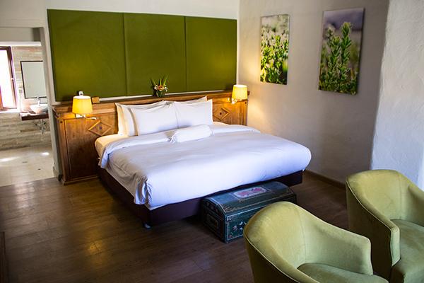 Our junior suite at Colca Lodge