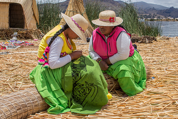 Women in Uros