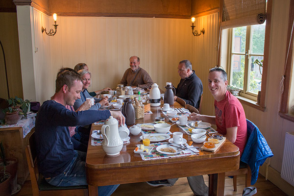 Breakfast at the Guest House, Puerto Varas