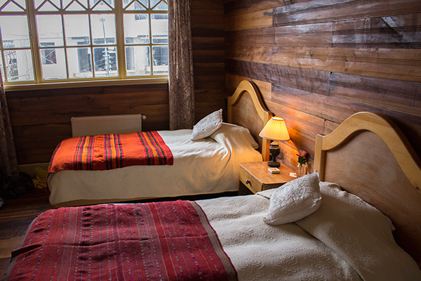 Bedroom at the Guest House, Puerto Varas