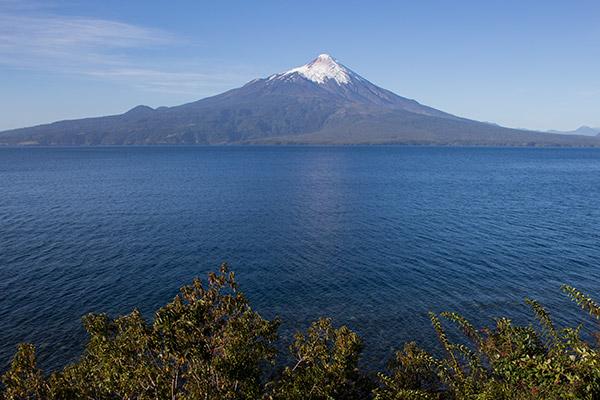 Osorno Volcano on Lake Llanquihue