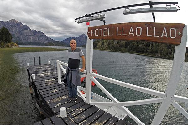 The Llao Llao's marina at Lake Moreno