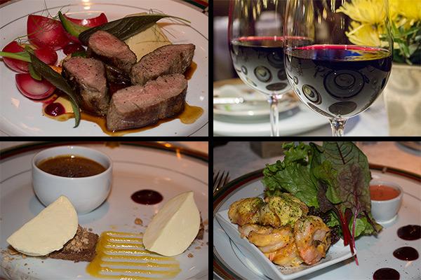 Dinner at the Llao Llao's Los Cesares Restaurant