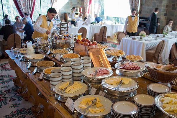 Breakfast at the Llao Llao