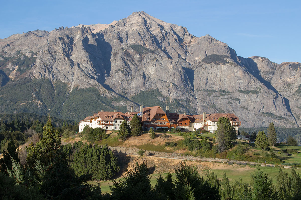 The beautiful Llao Llao Hotel