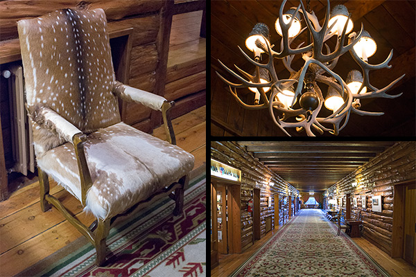The Llao Llao's interior