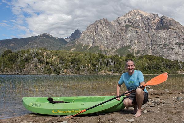 Tony at Lake Moreno