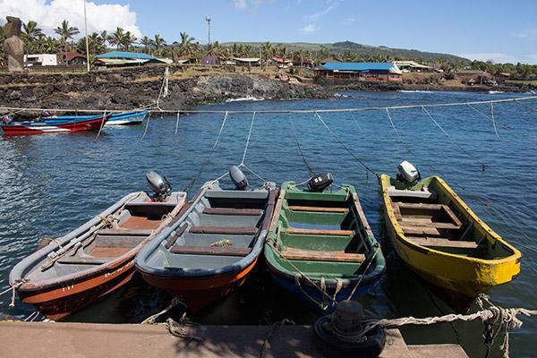 Dock in Hanga Roa