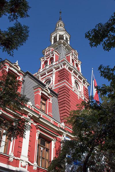 Colonial architecture, Santiago