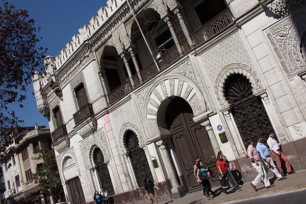 Moorish architecture, Santiago