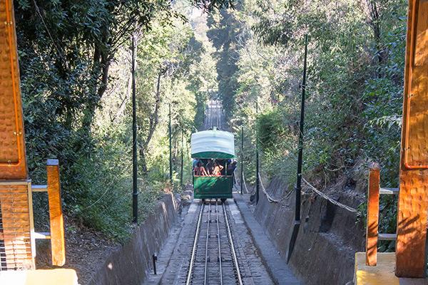 Funicular, Cerro San Cristobal, Santiago