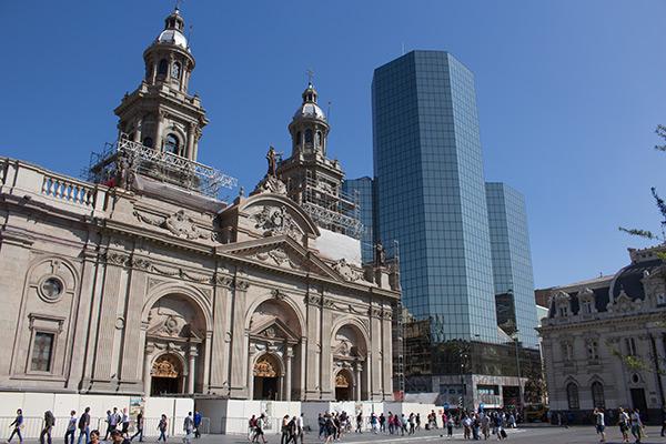 Catedral Metropolitana, Plaza de Armas, Santiago