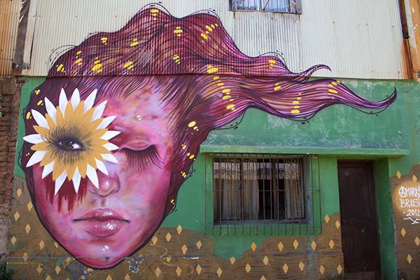 Graffiti street art, Valparaíso