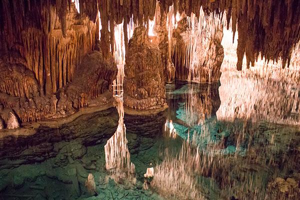 Cuevas del Drach in Porto Cristo, Mallorca