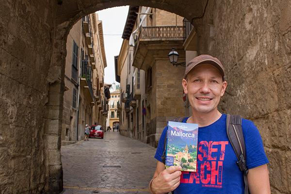 Exploring Old Palma, Mallorca