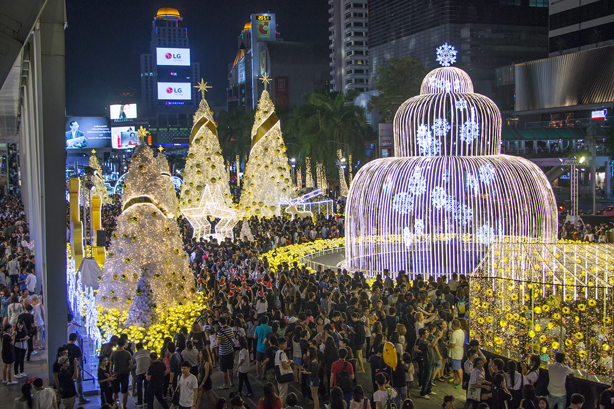 Christmas in Central World, Bangkok