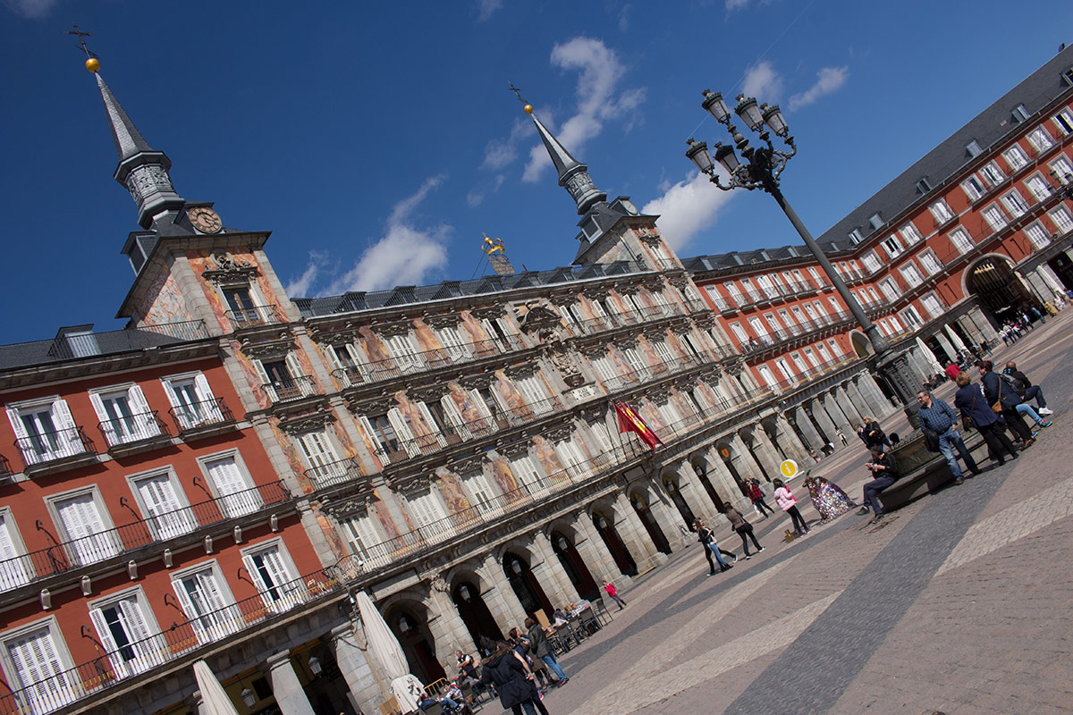 Things to do in Madrid: Wander through Plaza Mayor