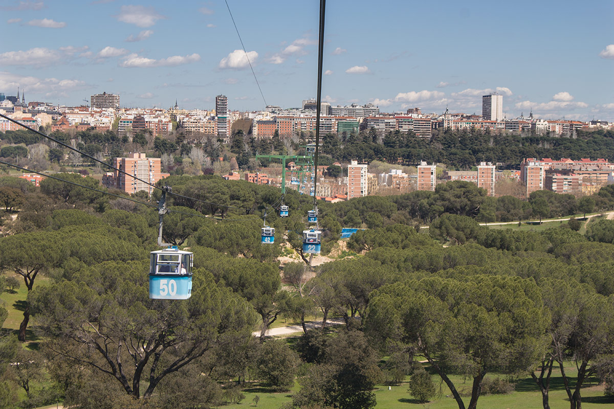 Things to do in Madrid: Take a ride in the Teleferico cable car