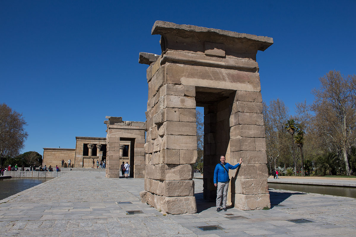 Things to do in Madrid: Visit the Temple of Debod
