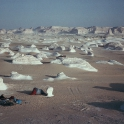 Camping in the White Desert