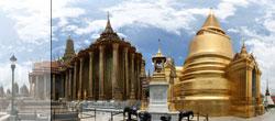 Wat Phra Kaew in Bangkok, Thailand