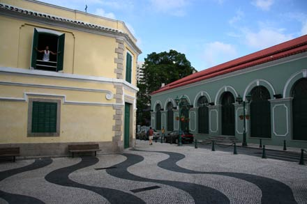 Typical Square in Macau