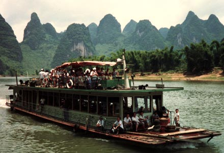 Arriving in Yangshuo in 1987