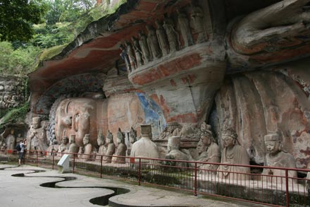 Giant Buddha in Dazu