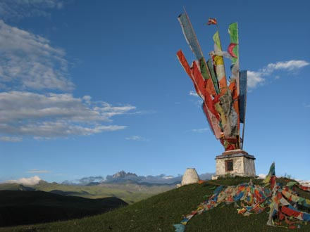 Prayer Flags and Grasslands