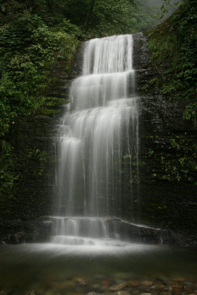Waterfall on Emei Shan