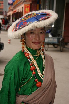 Fancy Woman in Yushu