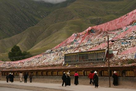 Sengze Gyanag Mani in Yushu