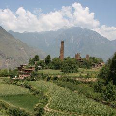 Gorgeous countryside near Danba