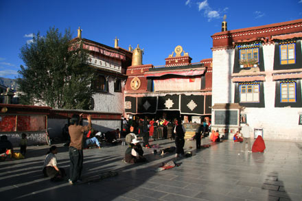 The Jokhang in Barkhor Square, Lhasa