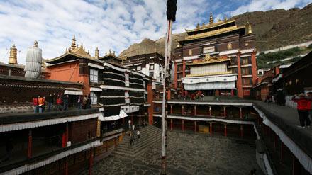 Tashilunpo Monastery Xigatse, Tibet