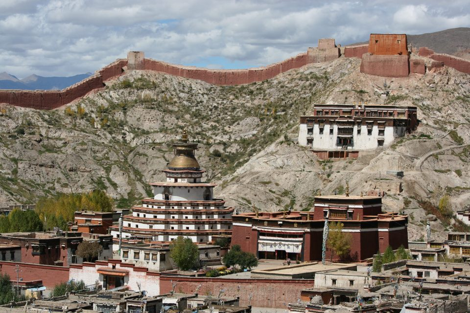 View over Palcho Monastery in Gyantse, Tibet
