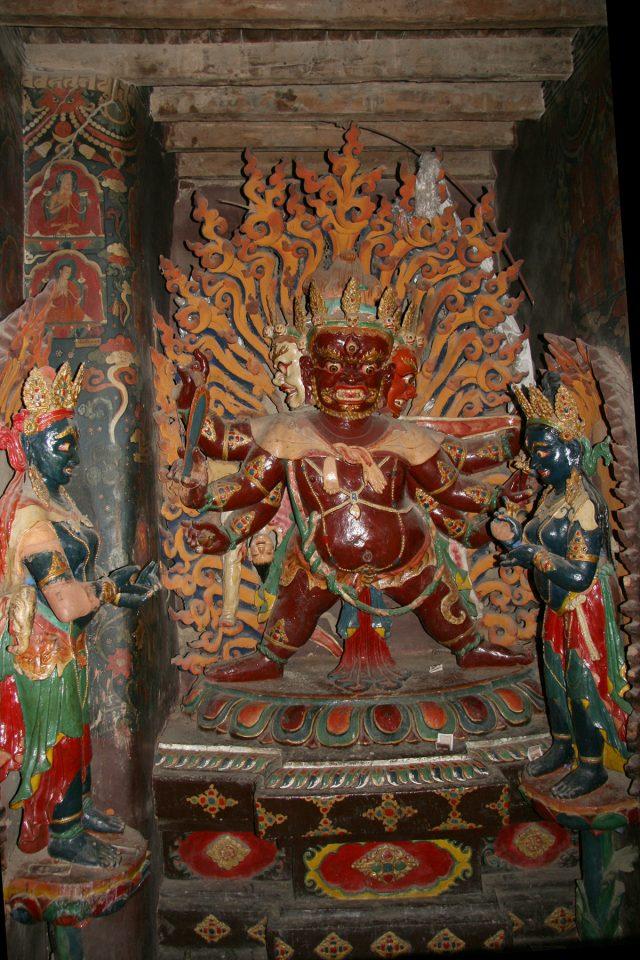 Altar in the Gyantse Kumbum