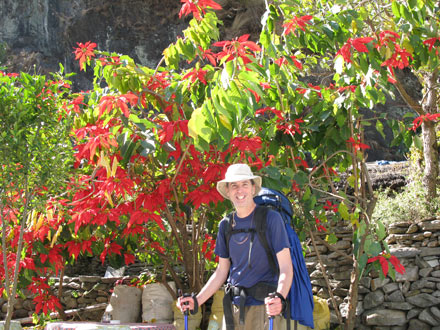 Tony in Lodge Garden
