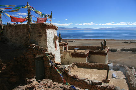 Chiu Monastery by Lake Manasarovar