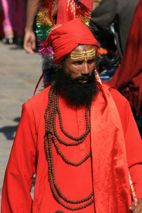 Sadhu in Durbar Square, Kathmandu