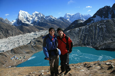 Thomas and Tony on Gokyo Ri