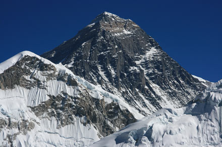 Everest Close-Up from Kala Patthar
