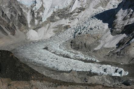 Khumbu Icefall and Glacier