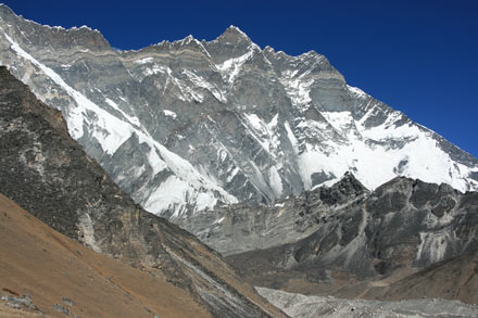 Lhotse from Chhukhung Ri