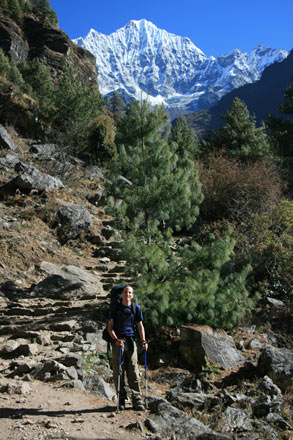 On the Everest Trek