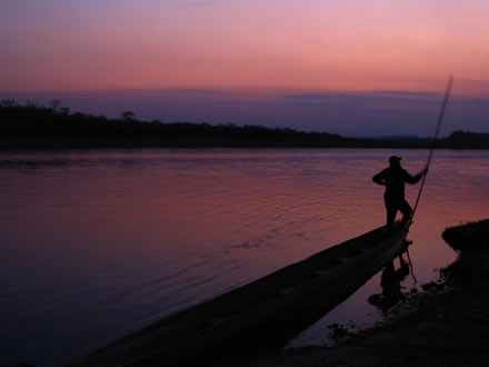 Sunset, Chitwan National Park